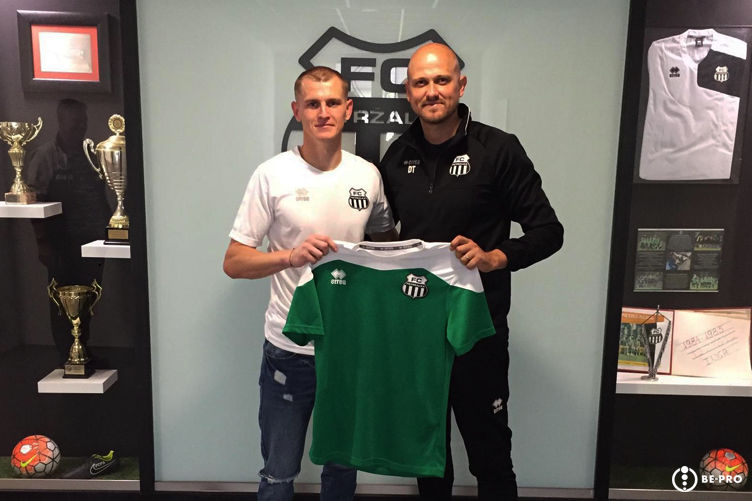 Goalkeeper Lastovica signed-up for BE-PRO, he made the first big move of his career