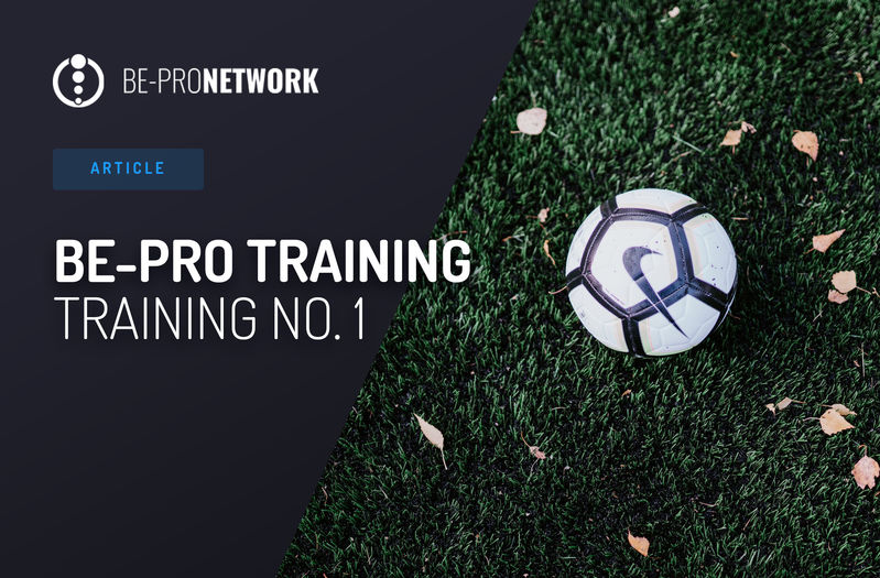BE-PRO Training: Training No. 1