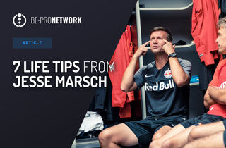 7 motivation tips from Jesse Marsch